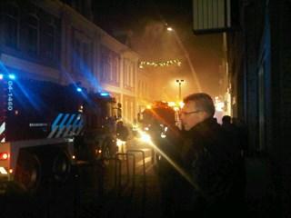 Brand Kampen. Foto: @georgeherklots
