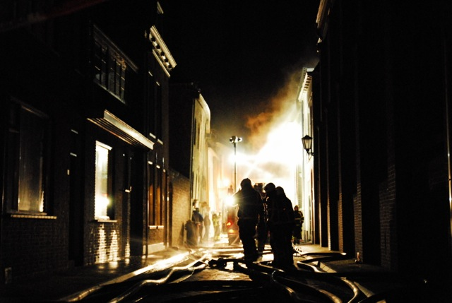 Grote brand Kampen