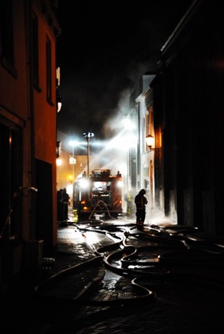 Brand Kampen. Foto: Wilfred Hamelink