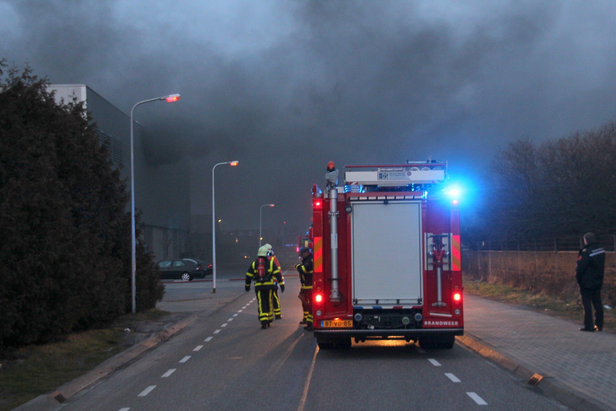 Zeer grote brand bij Stramproy Green Steenwijk
