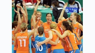 De Nederlandse volleybalsters