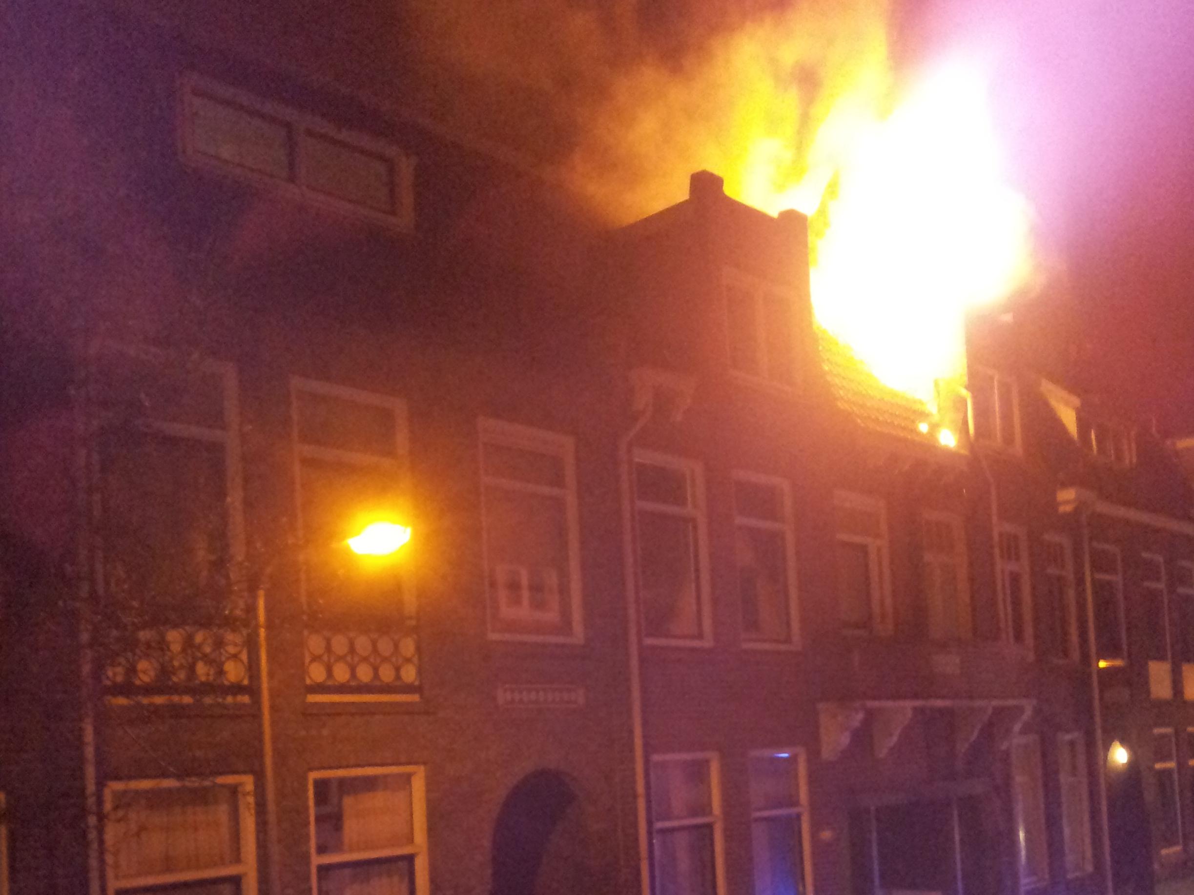 Twee gewonden bij brand studentenwoning - Kabinet zolderkamer ...