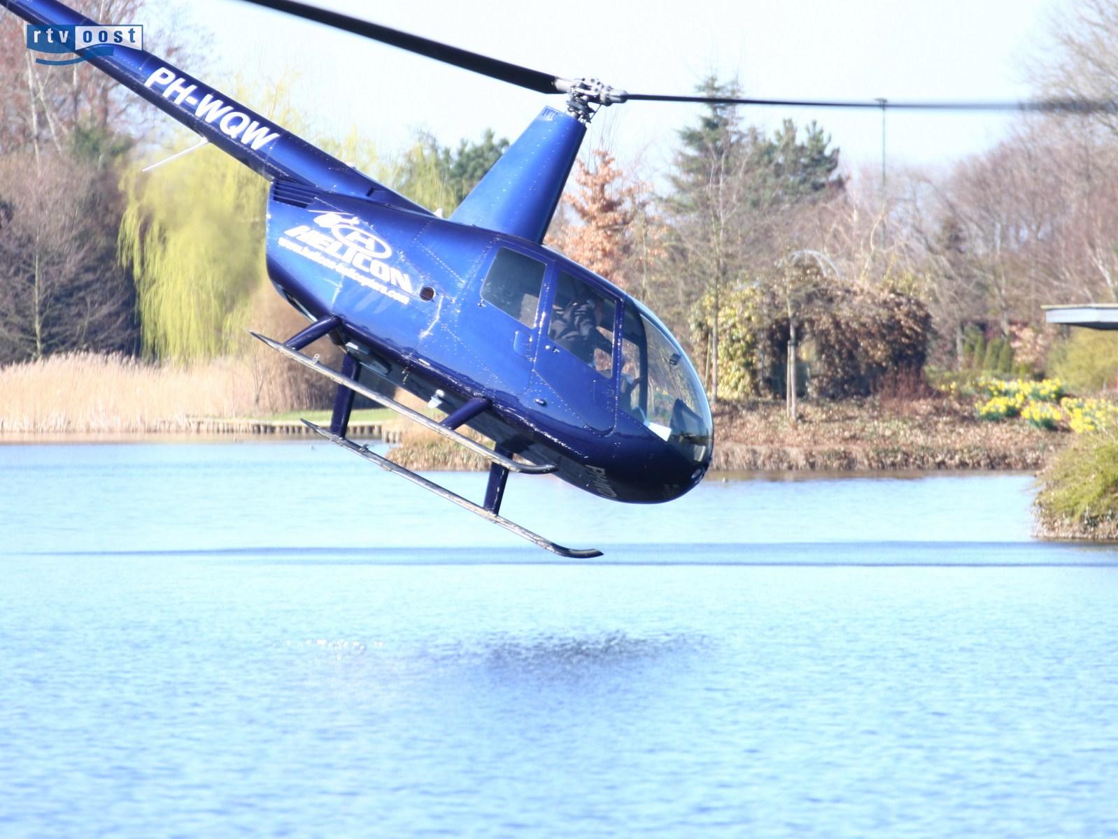 Helikopter stort neer bij De Lichtmis