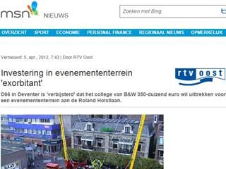 Nieuws van RTV Oost op msn.nl