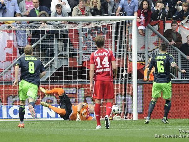 FC Twente verliest thuis van Ajax