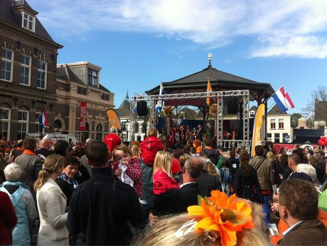Foto's Koninginnedag 2012 in Overijssel