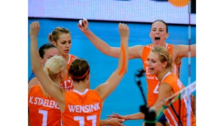 Volleybalsters Oranje