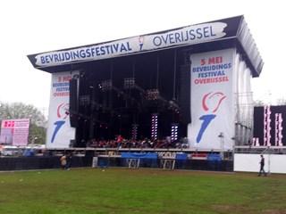 Bevrijdingsfestival Overijssel 2012 via social media