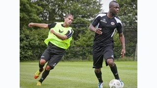 Eerste training Heracles