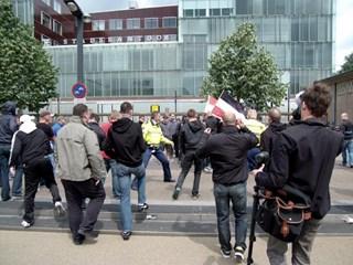 NVU demonstratie vorig jaar Enschede
