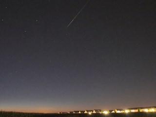 Vallende ster. Foto: Johann de Graaf (YouTube)