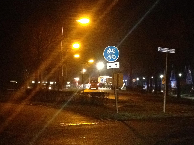 Weg afgesloten na ernstig ongeluk in Nijverdal