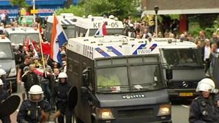 Demonstratie NVU in Enschede