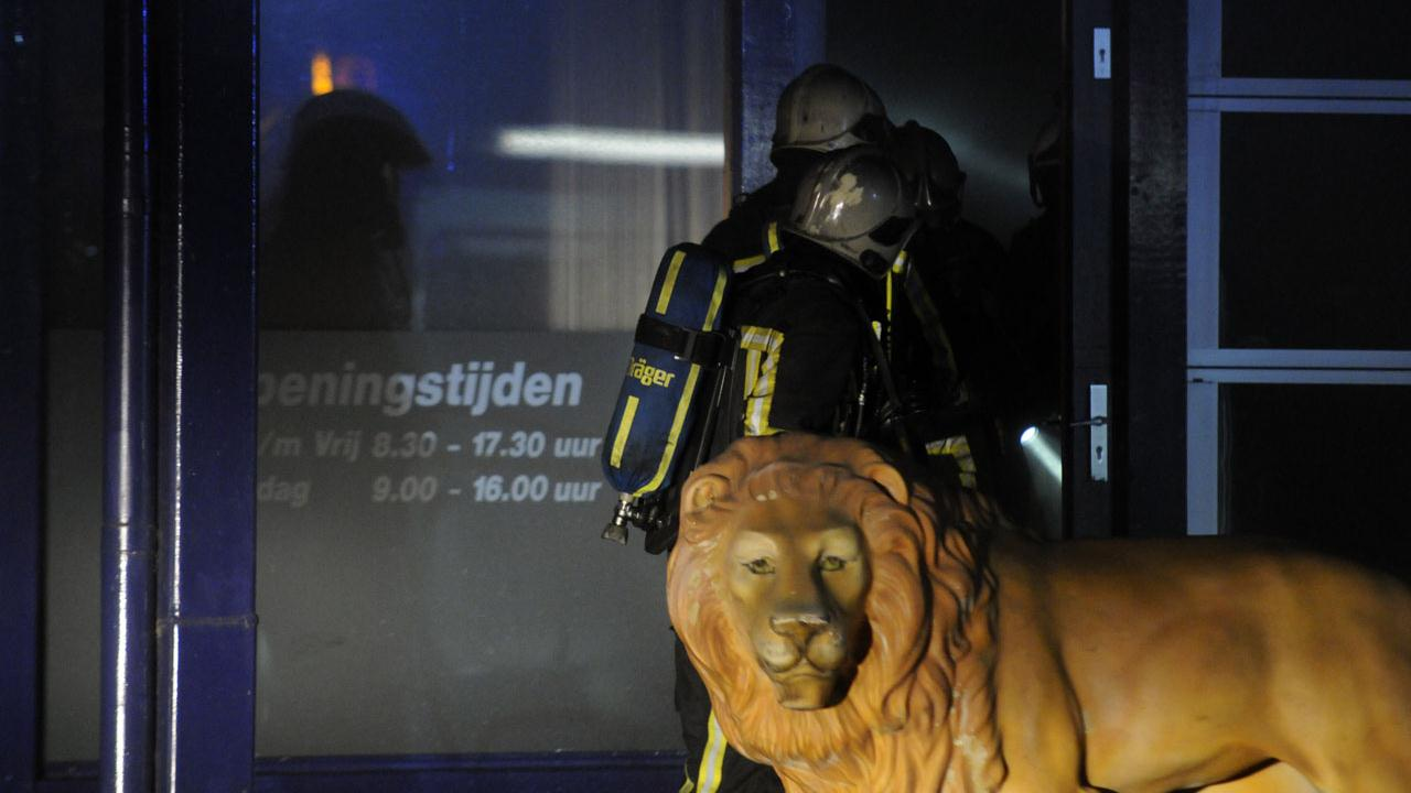 Grote brand in Enschede onder controle