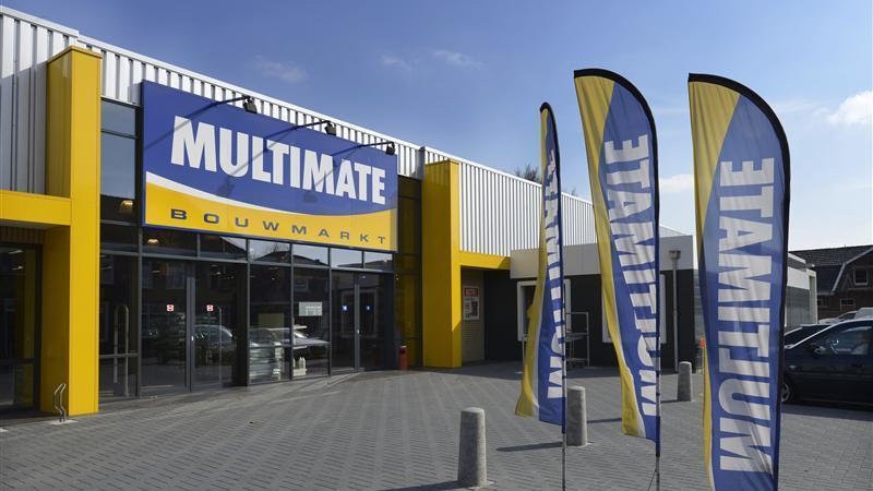 Bouwmarkt Multimate in Oldenzaal failliet Multimate Bouwmarkt