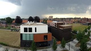 Naderend onweer Enschede