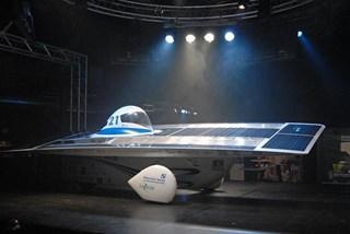 Zonneauto Solar Team getest