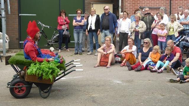 Zevenduizend fietsers bij elfde kunstfietsroute omgeving Deventer