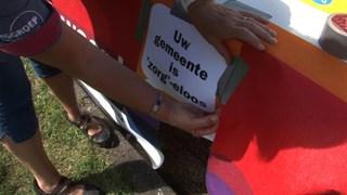 Thuiszorgmedewerkers Steenwijkerland protesteren