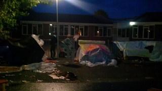 Nacht Zonder Dak in IJsselmuiden voor het goede doel