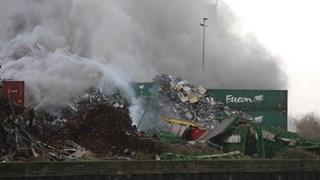 Grote brand in Kampen