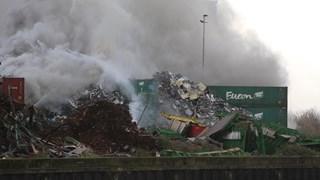 Brand bij Regelink in Kampen