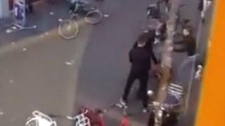 Schokkende video vechtpartij Enschede