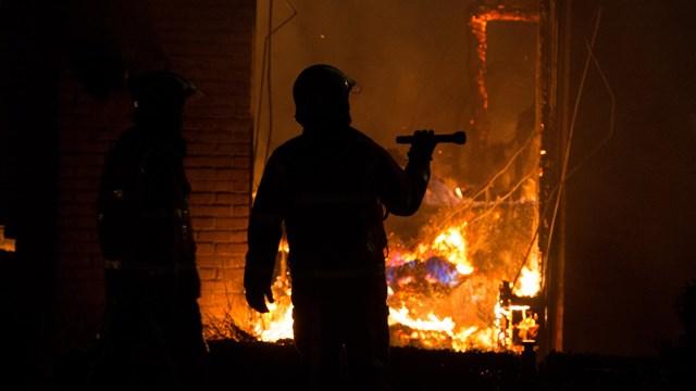 Uitslaande brand in Kalenberg