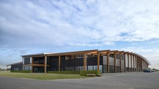 Het gebouw van Unipro in Haaksbergen