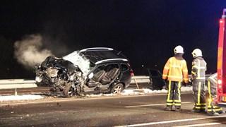 Ongeluk A32 Steenwijk