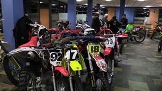 Motoren in gemeentehuis Staphorst