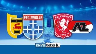 Kwartfinales KNVB-beker