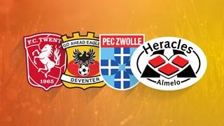 Eredivisie speelronde 25