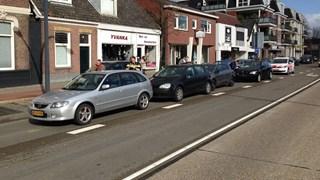 Aanrijding op de Oldenzaalsestraat in Hengelo