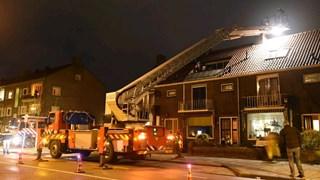 Schoorsteenbrand in Deventer