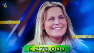 278.000 euro voor Nicole uit Glane