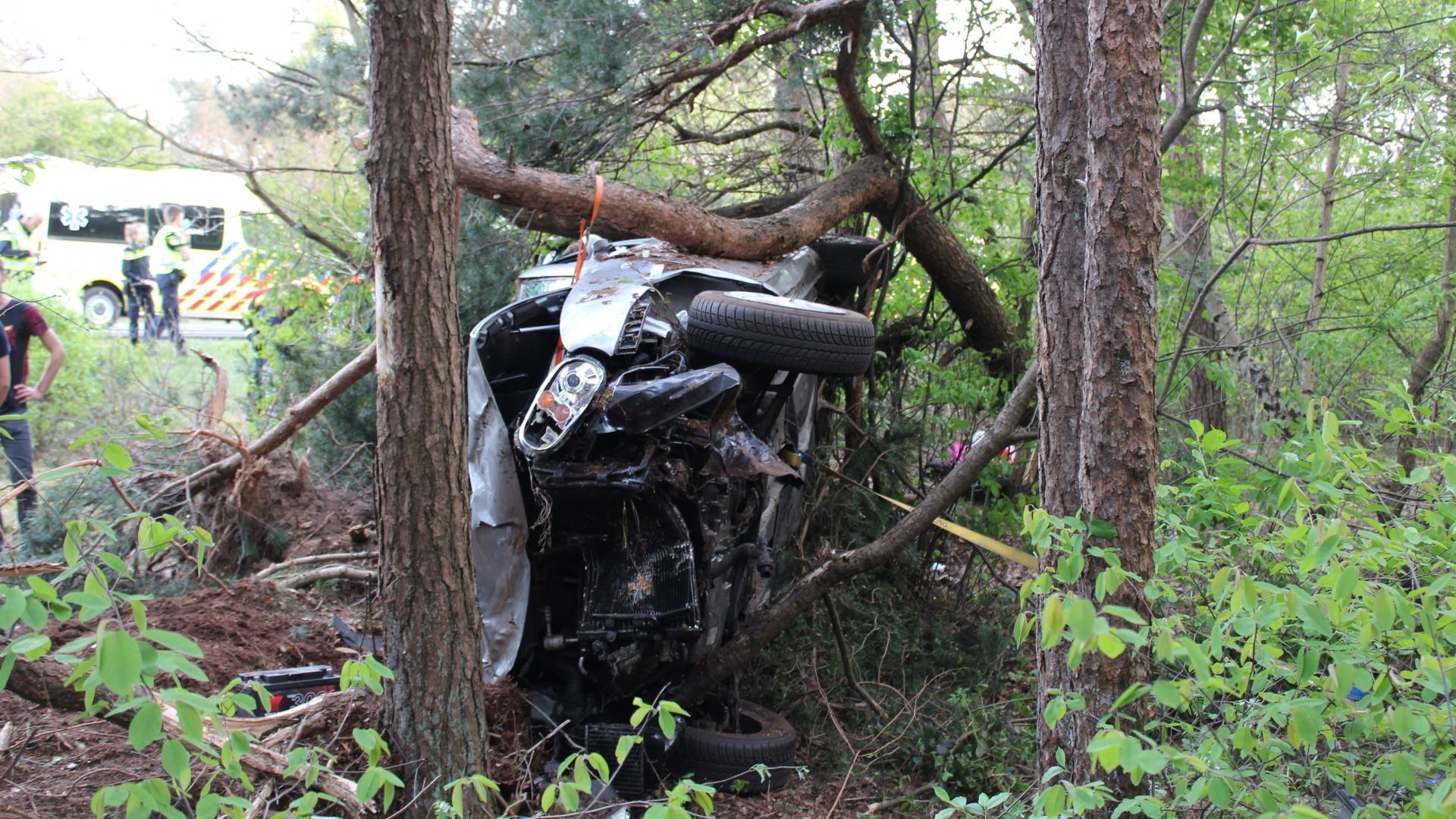 Meisje van 11 overleden na ernstig ongeluk op A28 bij Wezep