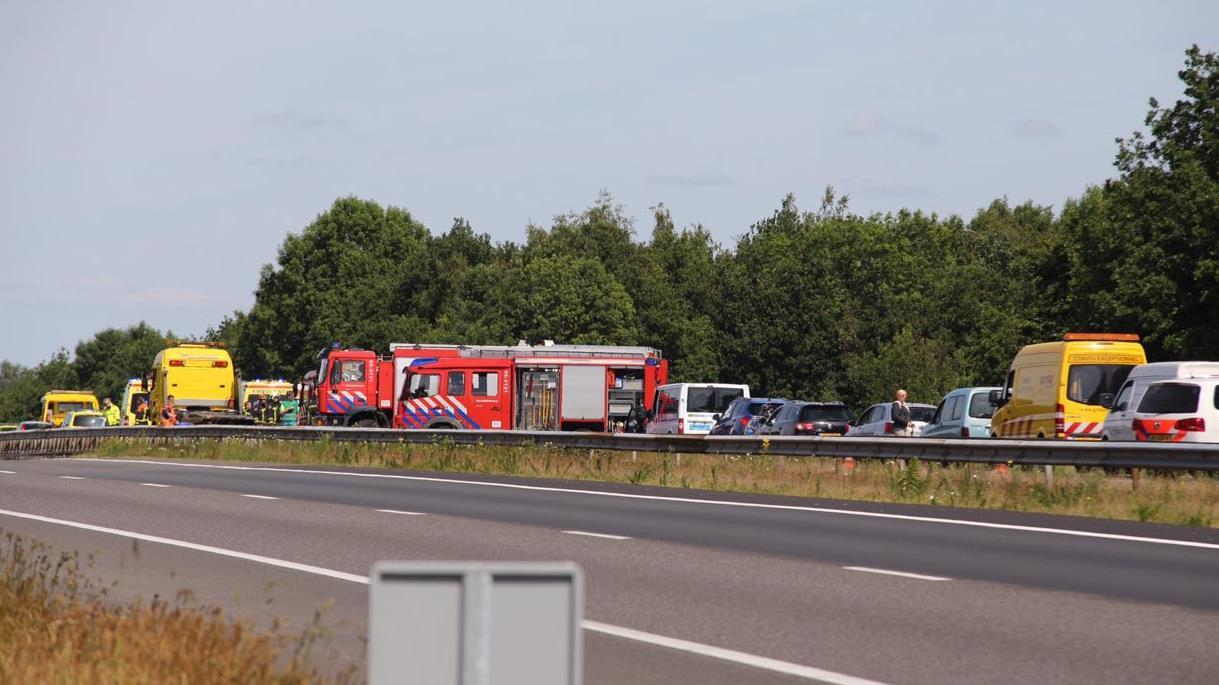 Ongeluk autobahn duitsland vandaag