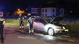 Autobrand in Enschede