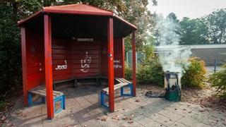 Opnieuw brand bij speeltuin in Haaksbergen