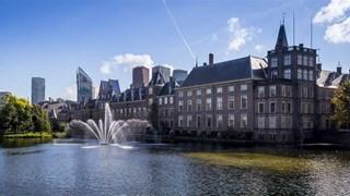 Hofvijver bij het Binnenhof