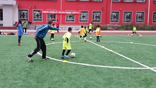Voetballes in China