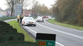Ongeluk vanochtend op de N36