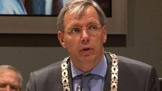 Burgemeester Visser van de gemeente Twenterand