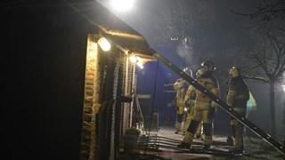 Schoorsteenbrand in Giethoorn