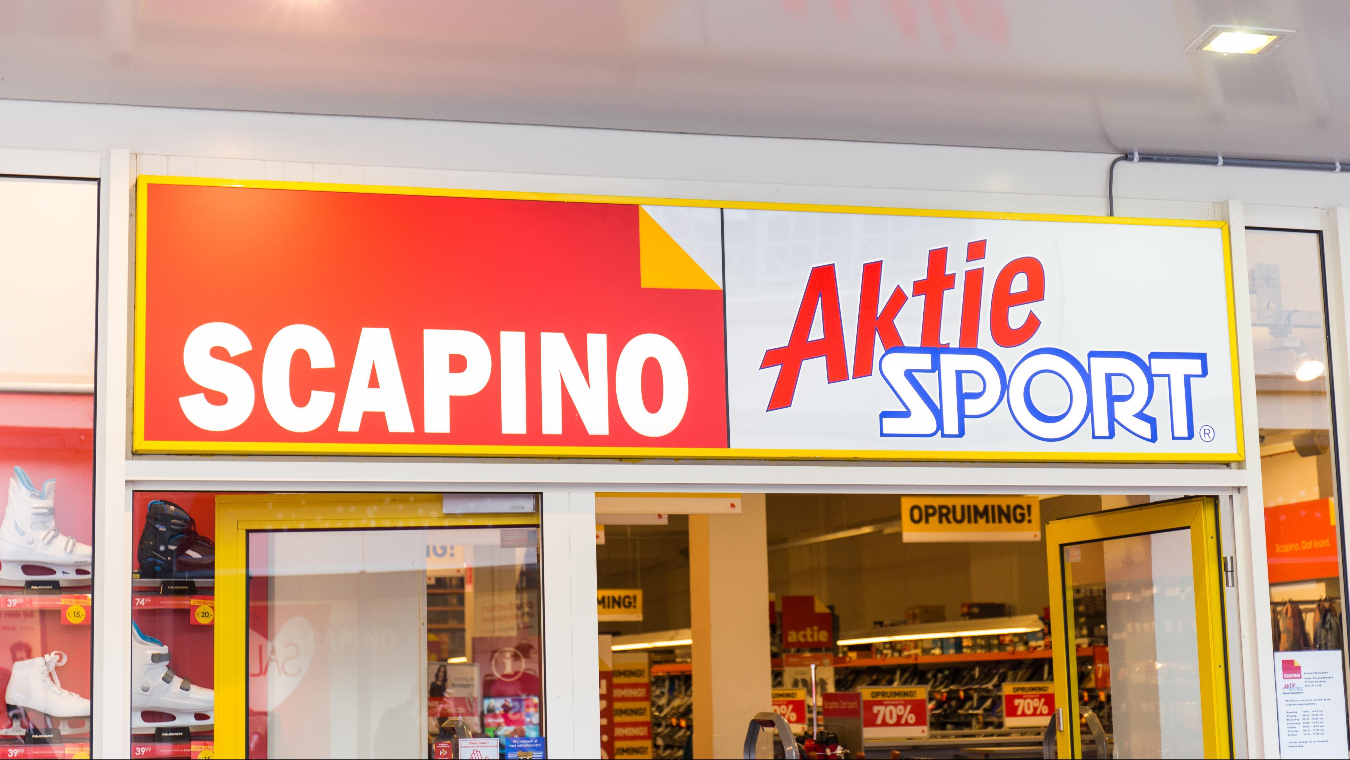 8e9bf2cc977 Scapino neemt shop-in-shops Aktiesport over, besluit winkels Aktiesport en  Perry uitgesteld