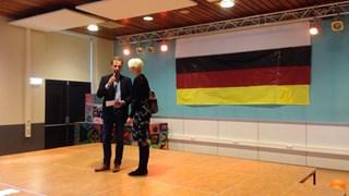 EUREGIO was ook aanwezig bij de Duitse middag