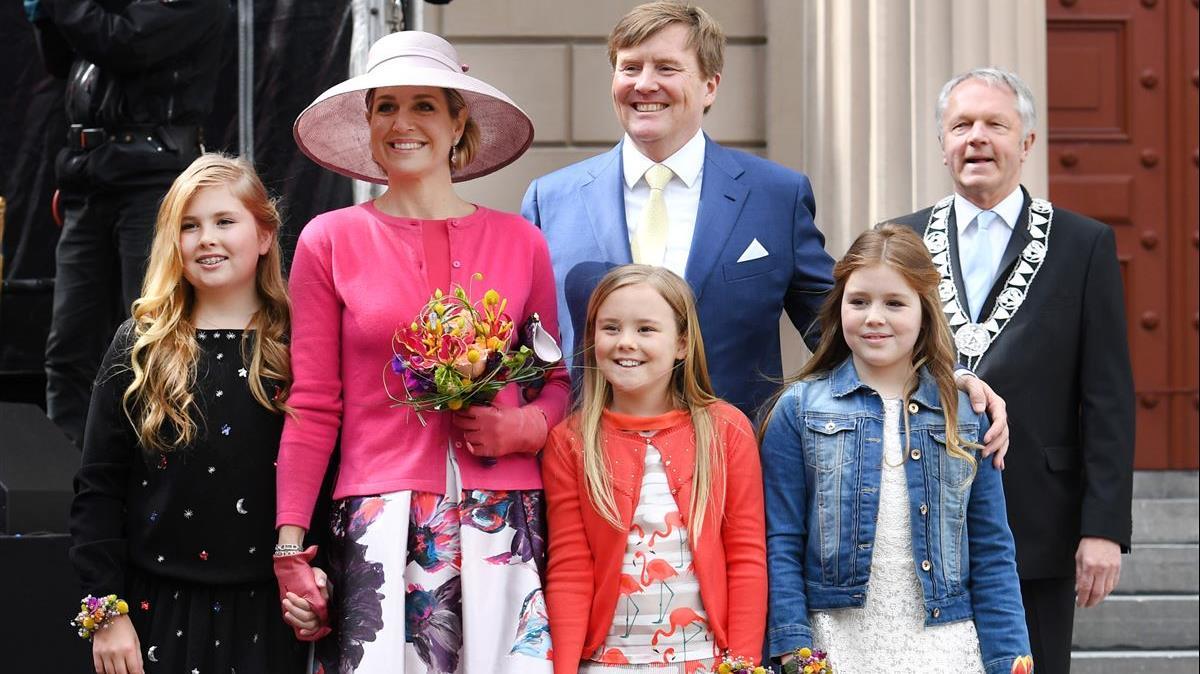 foto koninklijke familie vandaag