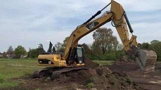 Werkzaamheden op braakliggend terrein Steenwijk