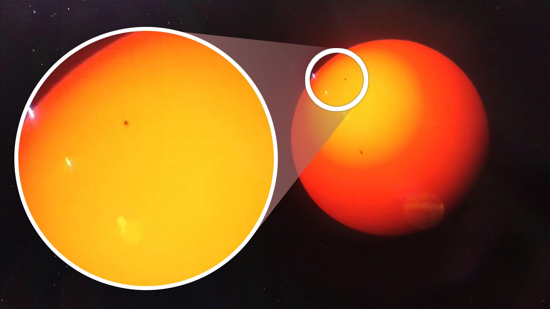 Mercurius schuift voor de zon vanmiddag te zien bij sterrenwacht in nijverdal - Doek voor de zon ...
